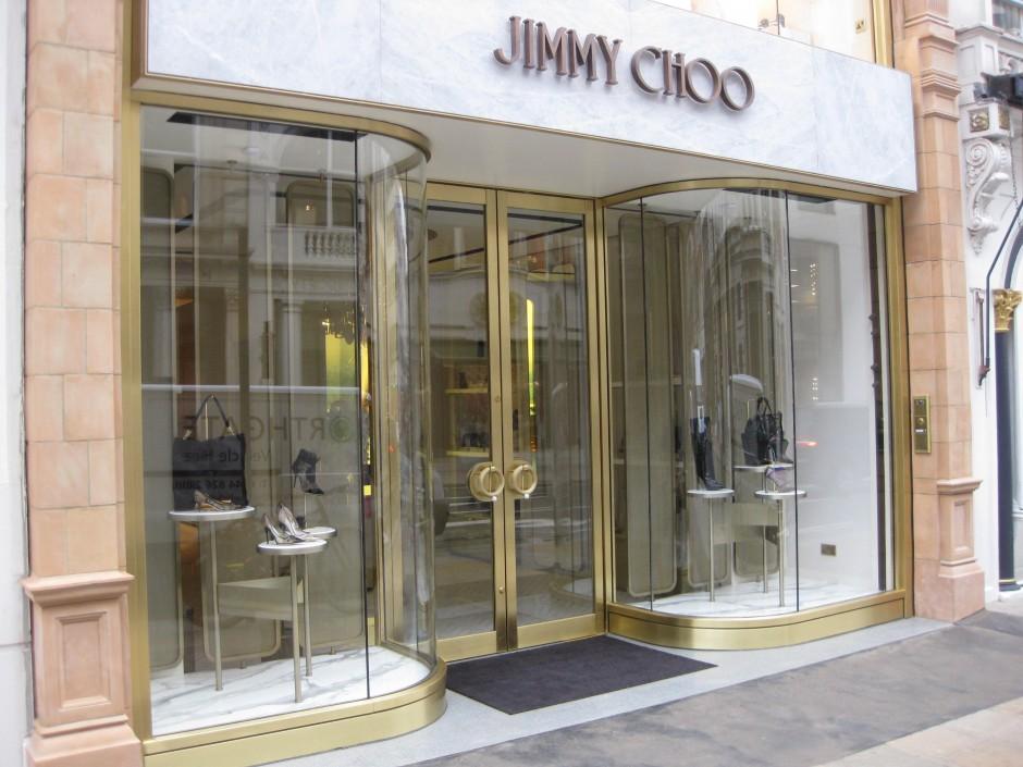 4f50b832499 Jimmy Choo, New Bond Street | A. Edmonds & Co. Ltd.